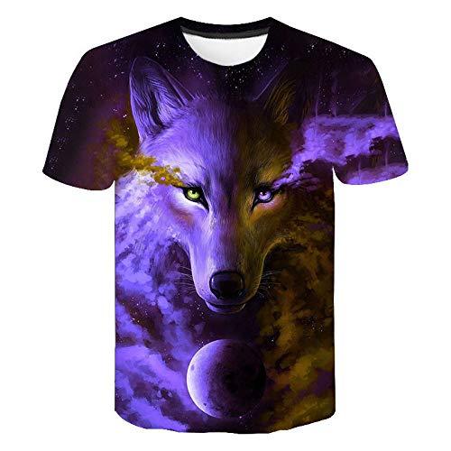 Joker t-shirt, maglietta per bambini, stampa 3D, unisex, con stampa 3D, divertente, maglietta da uomo estiva a maniche corte, maglietta da donna (100-4XL) F002 XXL