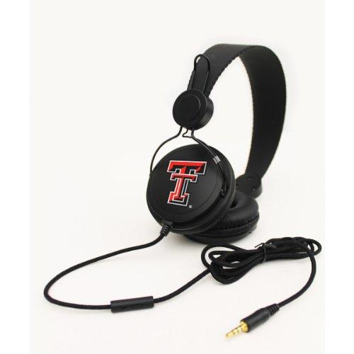 Headphones + Microphone - Texas Tech Red Raiders