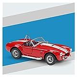 Kit Juguetes Coches Metal Resistente para Shelby Cobra 427 Escala De Vehículo 1:24 Modelo De Coche Coche De Simulación De Aleación Juguete Educativo Maravilloso Regalo (Color : Rojo)