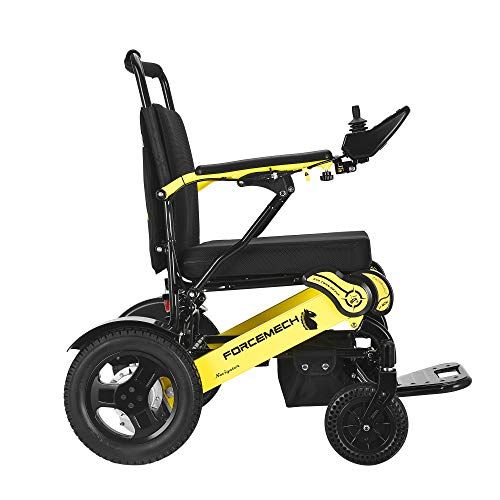 Forcemech Navigator - All Terrain Folding Electric Wheelchair (Navigator) - 6th Generation 2021 Model