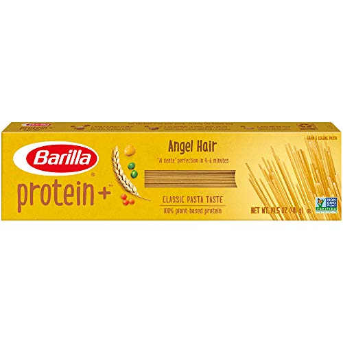 Barilla Plus Pasta, Angel Hair, 14.5 oz