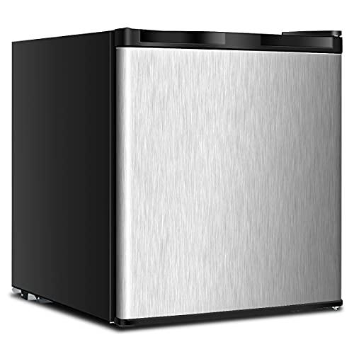 COSTWAY Mini Gefrierschrank 31L, Gefrierbox mit Temperaturregelung von -22°C bis -14°C, Tiefkühlschrank für Haus, Wohnheim, Büro 45x46x48cm