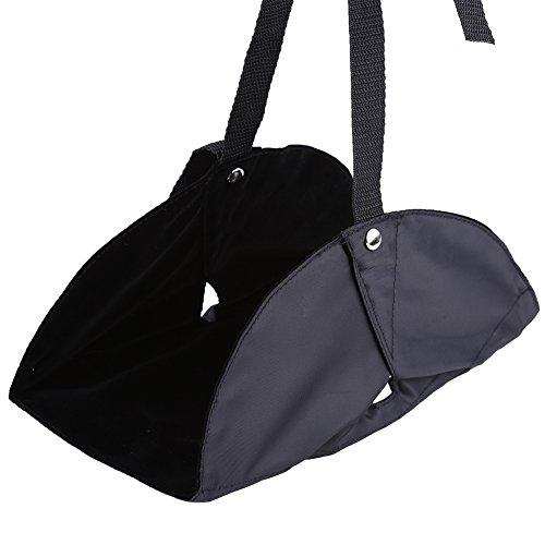 Alomejor Hangmat, draagbaar, draagbaar, voor in het vliegtuig, in de auto, trein of bus, thuis, op kantoor