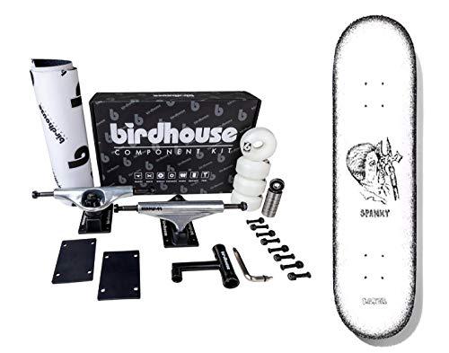 Komplettes Skateboard BAKER Spanky zum Zusammenbauen, hohe Qualität, Komponenten-Set und Board 8,125 Zoll