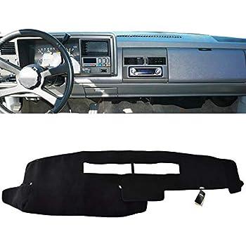 1997-1999 Chevy Silverado 1500 Dash Cover Black Carpet CH75-5