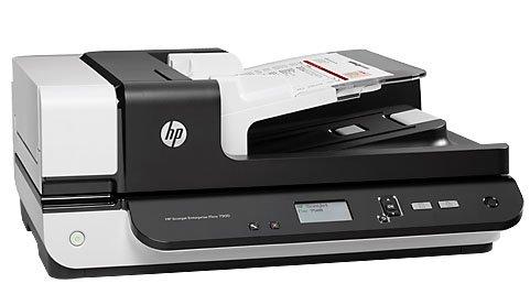 HP L2725B Scanjet Enterprise Flow 7500 Flatbed Scanner - 600 dpi - Up to 50 ppm - USB 2.0 (Certified Refurbished)