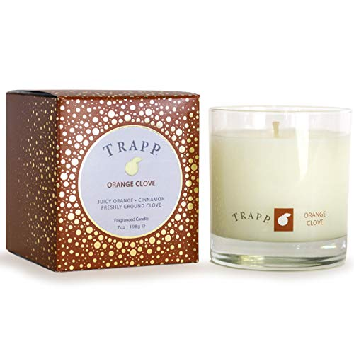 Trapp Limited Edition Seasonal Poured Scented Candle No. 57 Orange Clove, 7 Ounce