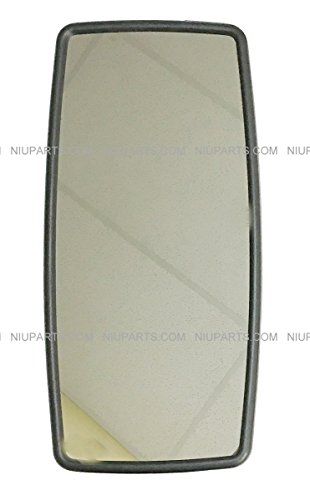 Rear View Main Mirror Black for Door and Hood (Fit: International DuraStar -