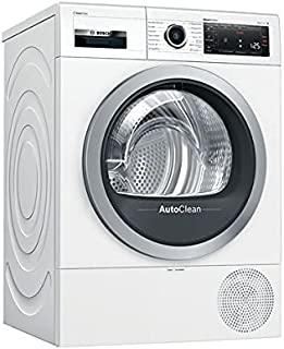 Bosch Hausgeräte WTX87MWIN Serie 8 Wärmepumpen-Trockner/A+++ / 176 kWh / 8 kg/weiß/AutoClean/Smart Dry/AutoDry/ComfortControl/Home Connect