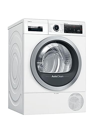 Bosch WTX87MWIN Serie 8 Wärmepumpen-Trockner/A+++ / 176 kWh / 8 kg/weiß/AutoClean/Smart Dry/AutoDry/ComfortControl/Home Connect