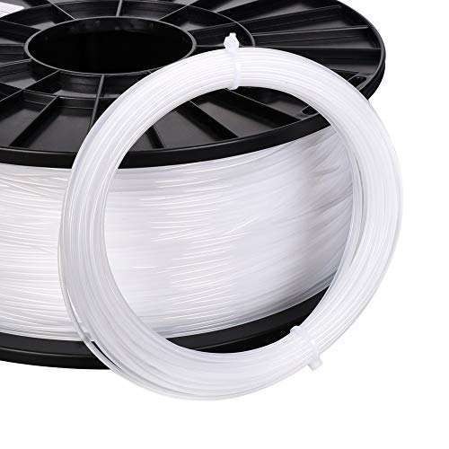 Love lamp White 3D Printer Cleaning Filament 3D Printer Filament 1.75MM 0.1kg Material Plastic Printing for 3D Printer Extruder Pen Accessories (Color : 100g)