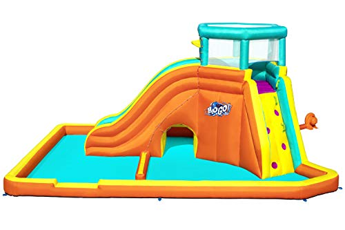 Bestway BW53385GB H2OGO Super Tidal Tower Mega Park, Inflatable Water Slide for Kids