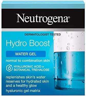 Neutrogena Hydro Boost Water Gel Moisturiser with Hyaluronic Acid & Trehalose - For dry skin - 50 ml