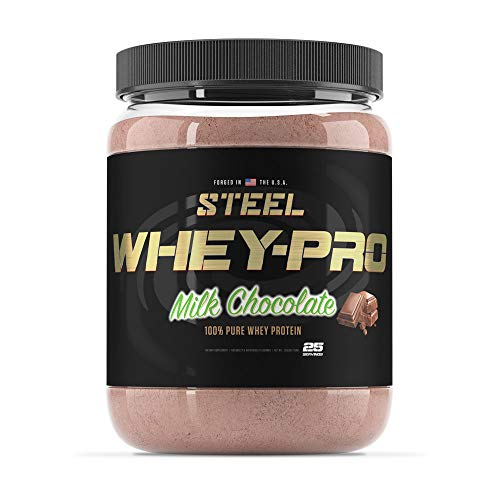 Steel Supplements Whey-PRO Whey Protein Powder Supplement Supports Lean Muscle Gains 3 Pounds (Snickerdoodle)