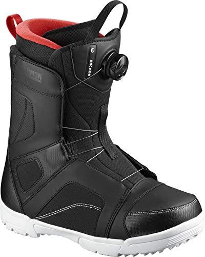 Salomon Herren Anchor Boa Snowboard Boots schwarz 28