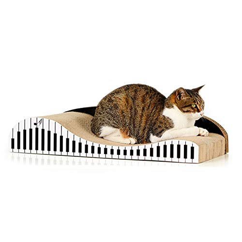 猫 つめとぎ 爪とぎ 段ボール ベッド ソファー トンネル テレビ ハウス 車 ハイヒール (ピアノ型)