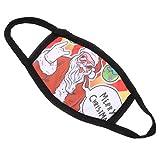 Holibanna 1Pc Christmas Face M-Ask Bandana Xmas Face Cover Proteggi Bocca Traspirante Protezione Antipolvere Puntelli per Bambini