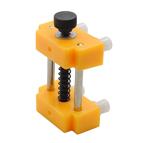 NBVCX Machinery Parts Watch Case Clamp Holder Adjustable Watchmakers Vice Repair Tool For Wristwatch