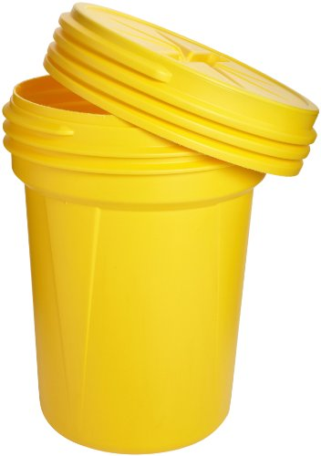 Eagle 1600SL Yellow High Density Polyethylene Lab Pack Drum