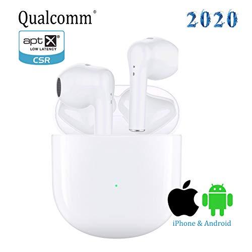 AIR Bluetooth Kopfhörer Kabellose Kopfhörer mit Premium Klangprofil mit intensivem Bass, IPX5 Wasserschutzklasse,Kabellos Kopfhörer Sport Ohrhörer für iPhone/Android in-Ear Kopfhörer