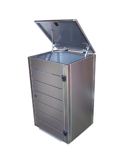 Mülltonnenbox für eine 120 Liter Tonnen, Modell Eleganza Line - 2