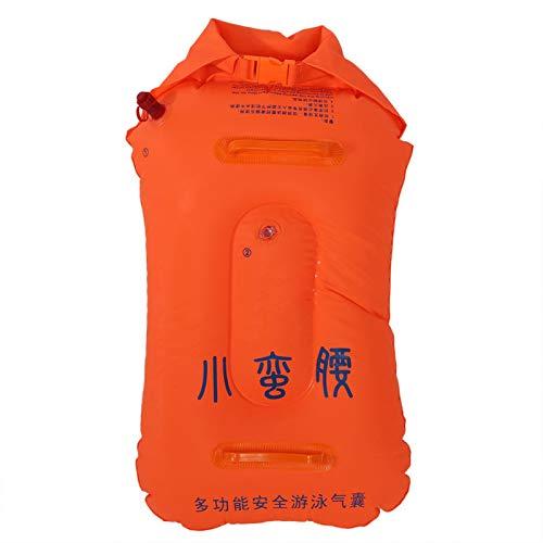 Jingyig Chaleco Salvavidas Inflable, Manual, Duradero, Ligero, Inflable Life Bouy, para bucear, Nadar con Dos Asas a Prueba de Fugas