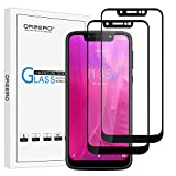 (2 Pack) Orzero Tempered Glass Screen Protector Compatible for T-Mobile Revvlry, 9 Hardness HD Anti-Scratch Anti-Fingerprint Bubble-Free [Lifetime Replacement]
