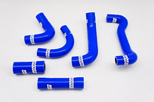 Autobahn88 Chauffage & reniflard & eau Pompe Kit tuyau Silicone, Maquette ASHK241-BL-WC (Bleu - avec jeu de fixation)