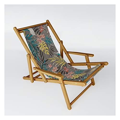 Society6 Bali Tropics - Cabana by Heather Dutton on Patio Sling Chair - One Size