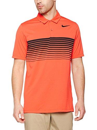 Nike Golf Closeout Men's Mobility Speed Stripe Polo (Black) (2XL)