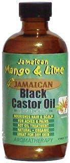 Jamaican Mango & Lime Black castor Oil,Rosemary 4 Fl Oz