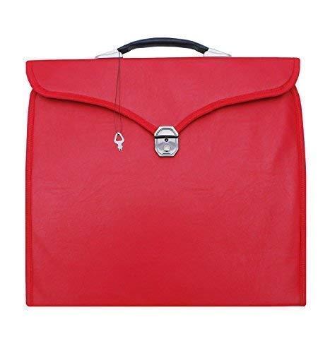 Unbekannt Freimaurer mm, Verehrter WM, Provinzial Undress Schürze Koffer Royal Bogen, Mark, Ornat Rot MB005