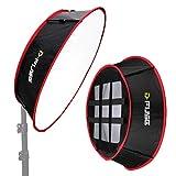 Kamerar D-Fuse Trapezoid LED Light Panel Softbox: 11.5