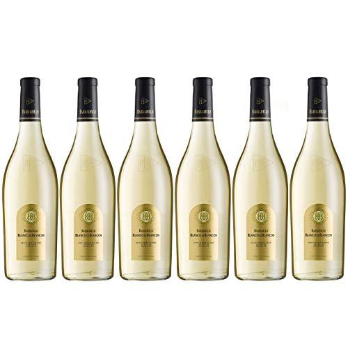 Barbadillo Blanco de Blancos | Vino Blanco Seco Verdejo, Sauvignon Blanc y Moscatel - Caja 6 x 75 cl
