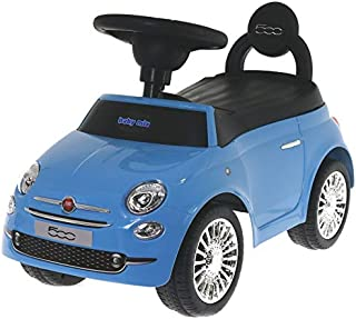 Baby Mix Fiat 500 antidérapante auto hz620 (Bleu)
