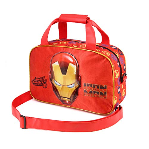 Karactermania Iron Man Armour-Sports Bag Kinder-Sporttasche, 38 cm, Rot (Red)