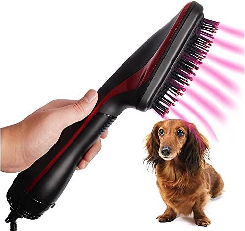 Tiyano 2 in 1 Pet A Secco Capelli Pettine Portatile Grooming Machine Anion Asciugatore Asciugatrice Dog Cat Massaggiatore (Colore: US Plug 220 V) (Color : Us Plug 220v)