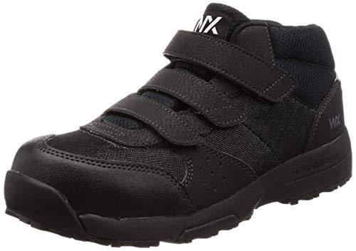 [アシックス商事 テクシーワークス] 安全靴 プロテクティブスニーカー WX-0004 ブラックデニム 25.5 cm 3E