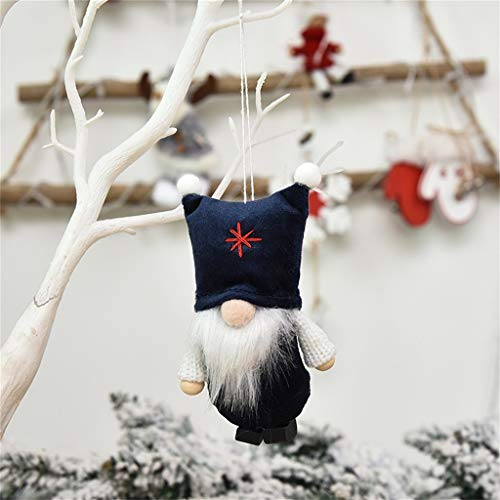 Christmas Decorations Christmas Gnome Faceless Old Man Creative Hanging Doll Ornaments Home Decorations Christmas Tree Ornaments Fall Decor For Home Farmhouse Small Ornaments Christmas Tree Decoration