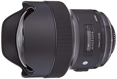 Sigma 14mm F/1.8 Art DG HSM Lens (for Nikon...