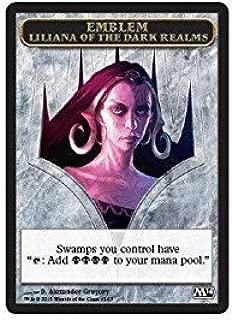 Magic: the Gathering - Emblem - Liliana of the Dark Realms (12/13) - Magic 2014
