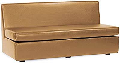 Howard Elliott 858-191 Slipper Sofa, Avanti Bronze