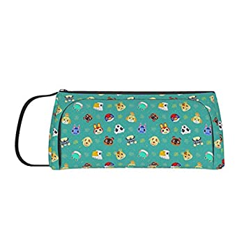 Cute Animal Large Capacity Pencil Case Pen Bag Pouch Holder Multi-Slot School Supplies For Middle High School Office College Teen Girl Adult Simple Storage
