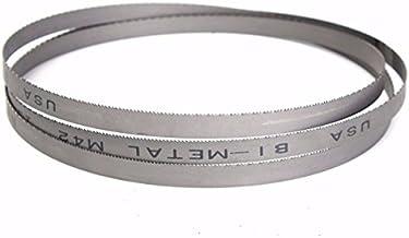 LMIAOM 2032 mm x 13 mm 14 tpi M42 bimetal de corte de metal hoja de sierra Accesorios de hardware Herramientas de bricolaje