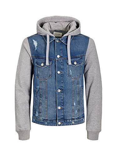 JACK & JONES Herren JJIALVIN JJJACKET AKM 074 Jeansjacke, Blue Denim, L