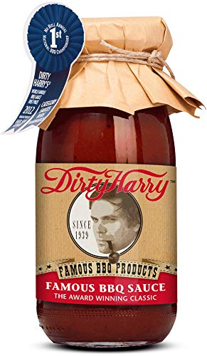Münchner Kindl Senf Bio Dirty Harry Famous BBQ Sauce (6 x 250 ml)