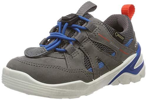 ECCO Jungen Biom VOJAGE Sneaker, Grau (Titanium/Olympian Blue 51244), 32 EU