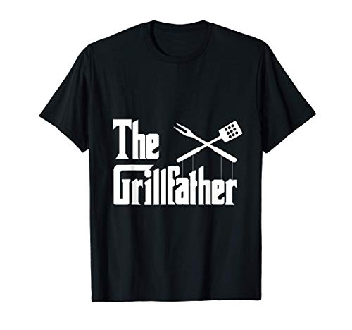 Grilling Smoker & Grill Chef Grillfather Grilled BBQ Gift T-Shirt
