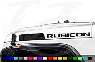 Rubicon Hood Decals for AEV Hood 1 Pair JK