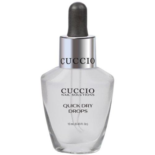 Cuccio Quick Dry Tropfen beschleunigt die Trockenzeit und schützt von Nail verwischen 13ml